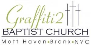 Graffiti 2 Baptist Church Bronx logo