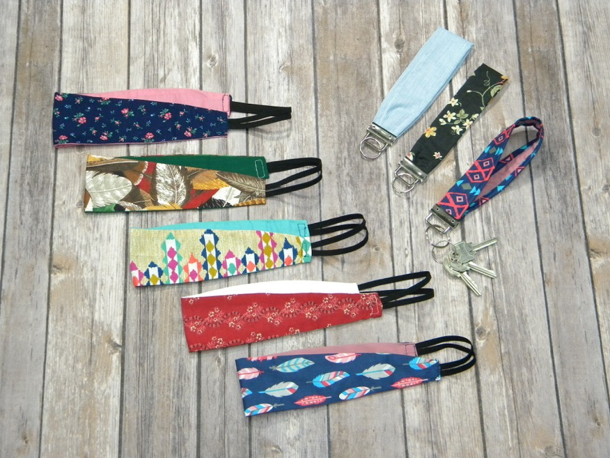 Different Wristlet Key Fobs #3