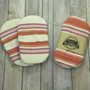 Mini Pot Holder Set (Stripe)
