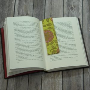Magnet Book Mark (Yellow Flowers)
