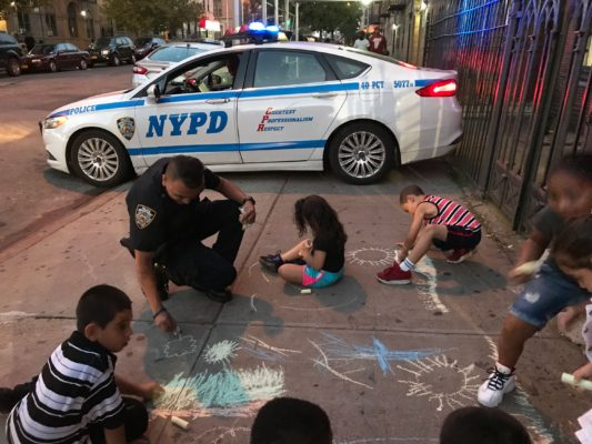 Police investing in the kids at Graffiti 2 Ministries