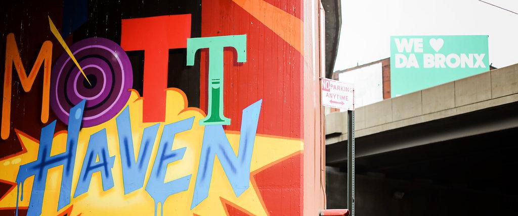 Bronx graffiti for Mott Haven
