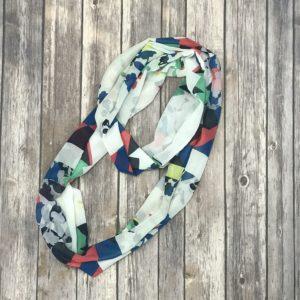 Infinity Scarf – Silky Multi