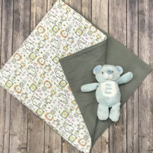 Flannel Baby Blanket (41-36)