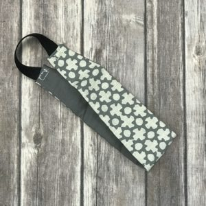 Reversible Headband-Grey and White