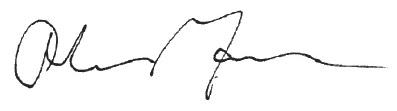 Andrew Mann Signature