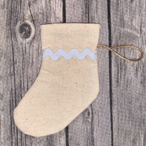 Mini Christmas Stocking Rik Rak