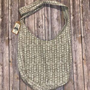Sling Bag – Light Brown and Beige Arrows